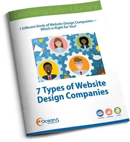 Free Guide: 7 Types of Website Design Companies